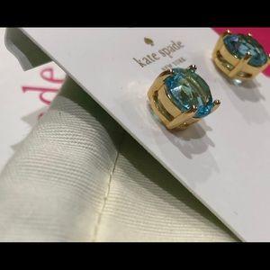 Kate Spade ♠️ Turquoise Gum Drop stud earrings NWT